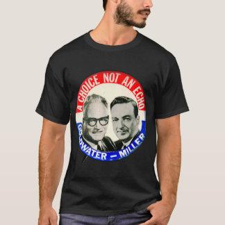 Vintage Retro Goldwater Miller Election Button T-Shirt