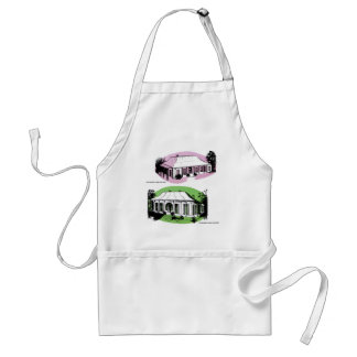Vintage Retro Kitsch 60s Experiment Farm Cottage Standard Apron