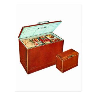 Vintage Retro Kitsch Appliances Deep Freezer Postcard
