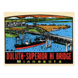 Vintage Retro Kitsch Decal Duluth MN Hi Bridge