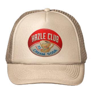 Vintage Retro Kitsch Hazle Club Club Soda Sign Cap