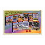 Vintage Retro Kitsch Myrtle Beach SC Postcard