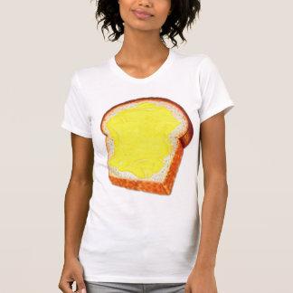 Vintage Retro Kitsch White Bread & Butter Shirt