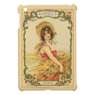 Vintage/Retro Lady in the Fields Case For The iPad Mini