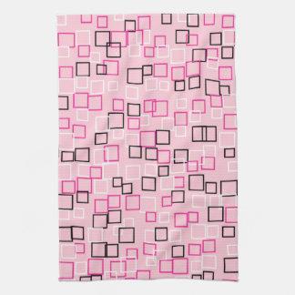 Vintage Retro Mod Pink Kitchen Towel Gift