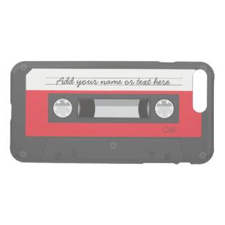 Vintage Retro Music Cassette Tape Funny iPhone 7 Plus Case