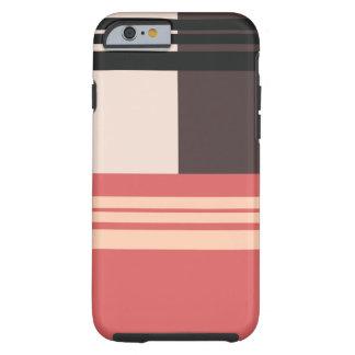 Vintage Retro Patterns Striped - iPhone 6 case Tough iPhone 6 Case