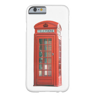 Vintage Retro Red Phone Booth Iphone Case