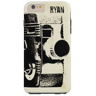 Vintage Retro Style Film Movie Camera Tough iPhone 6 Plus Case