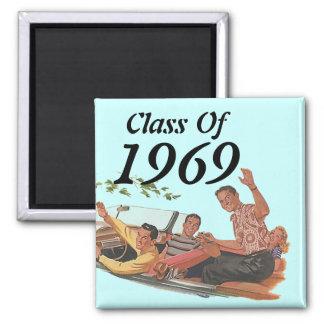Vintage Retro Style Reunion Class Magnet Novelty