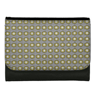 Vintage-Retro-Stylish-Gray-Olive-Wallet's Women's Wallet