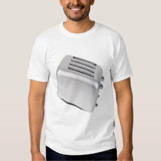 Vintage Retro Toaster Design - B&W Grey T-shirt
