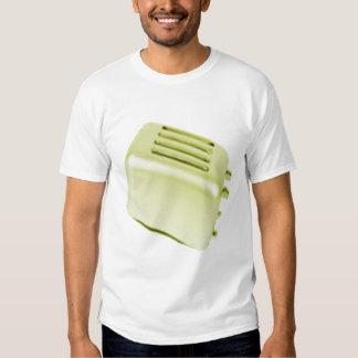 Vintage Retro Toaster Design - Yellow T Shirt