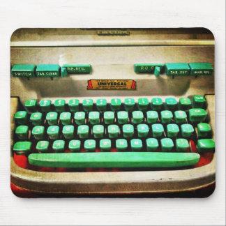 Vintage Retro Typewriter Mouse Pad