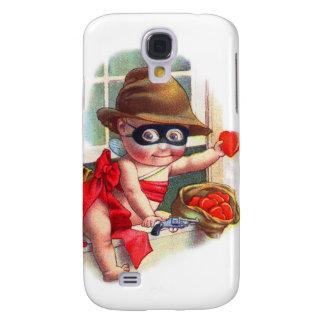 Vintage Retro Valentine Cupid the Little Thief Galaxy S4 Case