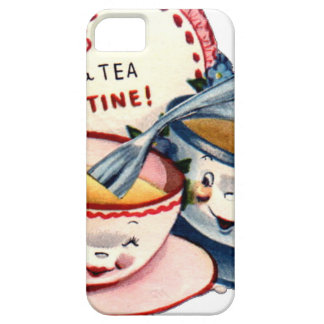 Vintage Retro Valentine's Day Barely There iPhone 5 Case