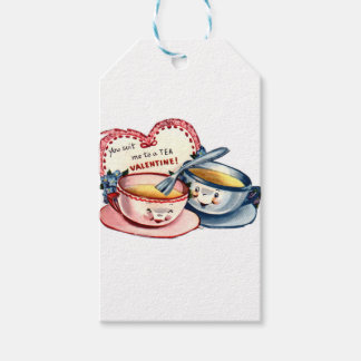 Vintage Retro Valentine's Day Gift Tags
