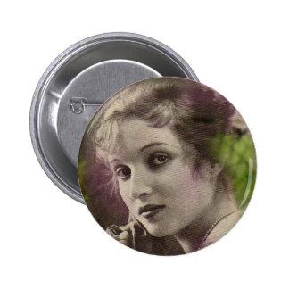Vintage Retro Women 20s Hollywood Alice Joyce 6 Cm Round Badge