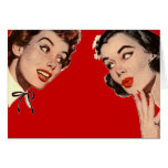 Vintage Retro Women Gossips