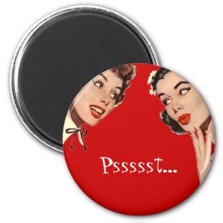 Vintage Retro Women Gossips Refrigerator Magnet
