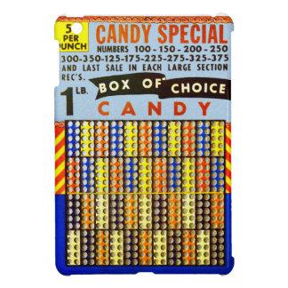 Vintage RetroKitsch Gambling Punch Board Candy iPad Mini Cover
