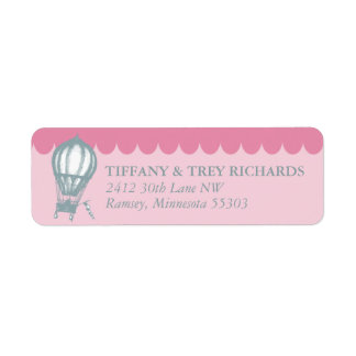 Vintage Return Address Label