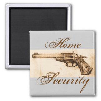 Vintage Revolver Magnet