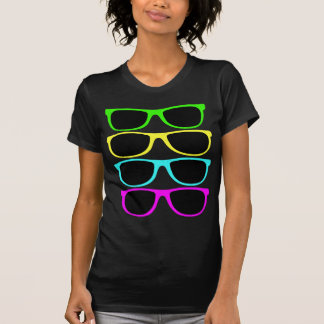 Vintage Rgb Fluo Sunglasses Tees