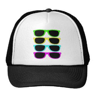 Vintage Rgb Fluo Sunglasses Trucker Hat