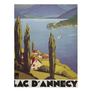 Vintage Rhône-Alpes, Annecy , France - Postcard