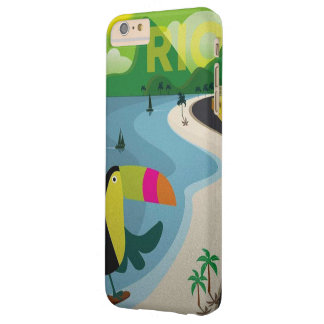 Vintage Rio Travel Poster Barely There iPhone 6 Plus Case
