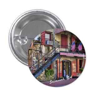 Vintage River Street Savannah Georgia Pins