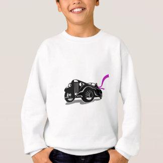 Vintage Roadster Scarf Retro Sweatshirt