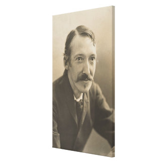Vintage Robert Louis Stevenson Photo Portrait Canvas Print