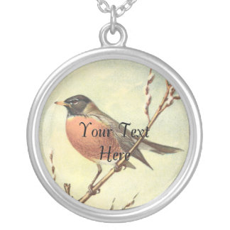 Vintage Robin Necklace