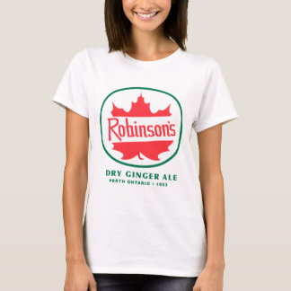 Vintage Robinson's Gingerale Logo T-Shirt
