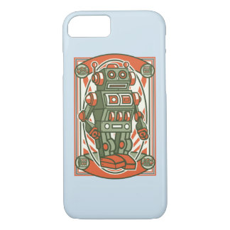 Vintage Robot Glossy Phone Case