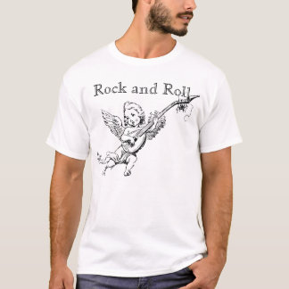 Vintage Rock and Roll Cherub Tee Shirt
