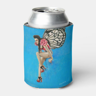 Vintage Rockabilly Fairy Can Cooler