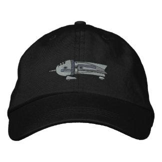 Vintage Rocket Ship Embroidered Hats