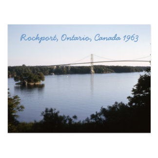 Vintage Rockport Ontario Canada Postcard