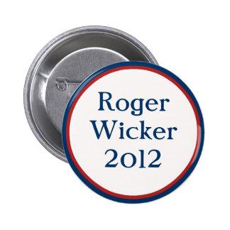 Vintage Roger Wicker Button