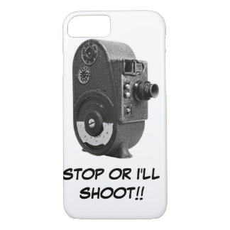 Vintage Roll Film Movie Camera iPhone 7 Case