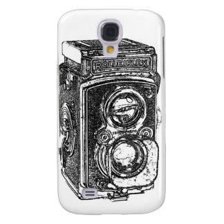 Vintage Rolleiflex Camera Galaxy S4 Covers