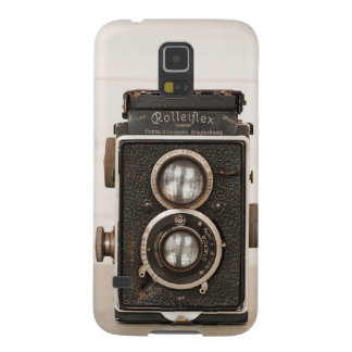 Vintage Rolleiflex Twin Lens camera Cases For Galaxy S5