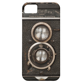 Vintage Rolleiflex Twin lens camera iPhone 5 Covers