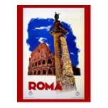 Vintage Roma Rome Italian travel Post Cards