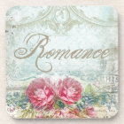 Vintage Romanace Floral Coaster