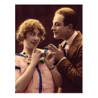 Vintage Romance Postcard