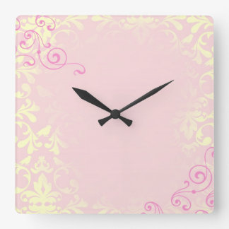 Vintage Romance Quote Mantra Wall Clocks